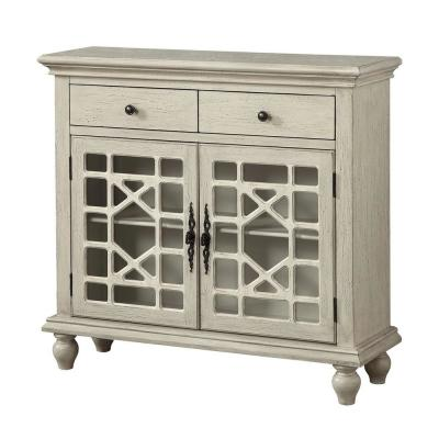 Millstone Texture Ivory 2-Drawer 2-Door Cupboard
