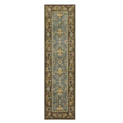 Perfection Sea 2 ft. x 8 ft. Runner Rug