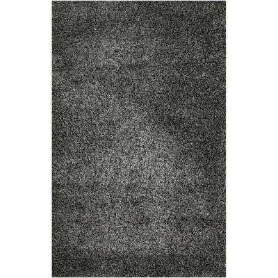 Candice Olson Silver Gray 5 ft. x 8 ft. Area Rug
