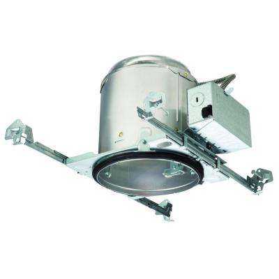 E26 6 in. Aluminum Recessed Lighting Housing for New Construction Ceiling, Insulation Contact, Air-Tite