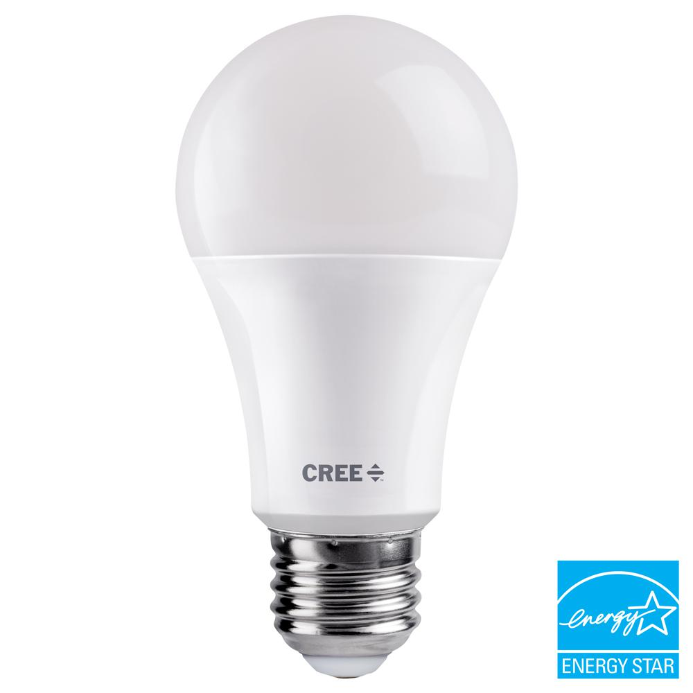 Cree 75w Equivalent Bright White 3000k A19 Dimmable Exceptional