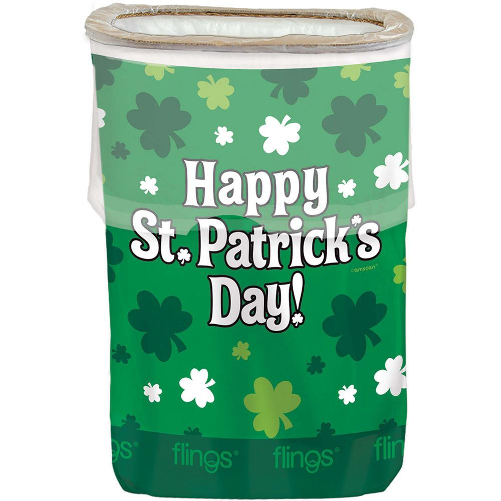 22 in. x 15 in. Happy St. Patrick's Day Plastic Pop