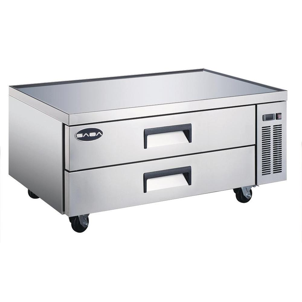 52 in. W 10.5 cu. ft. Commercial Chef Base Refrigerator Cooler