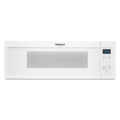 White Over The Range Microwaves