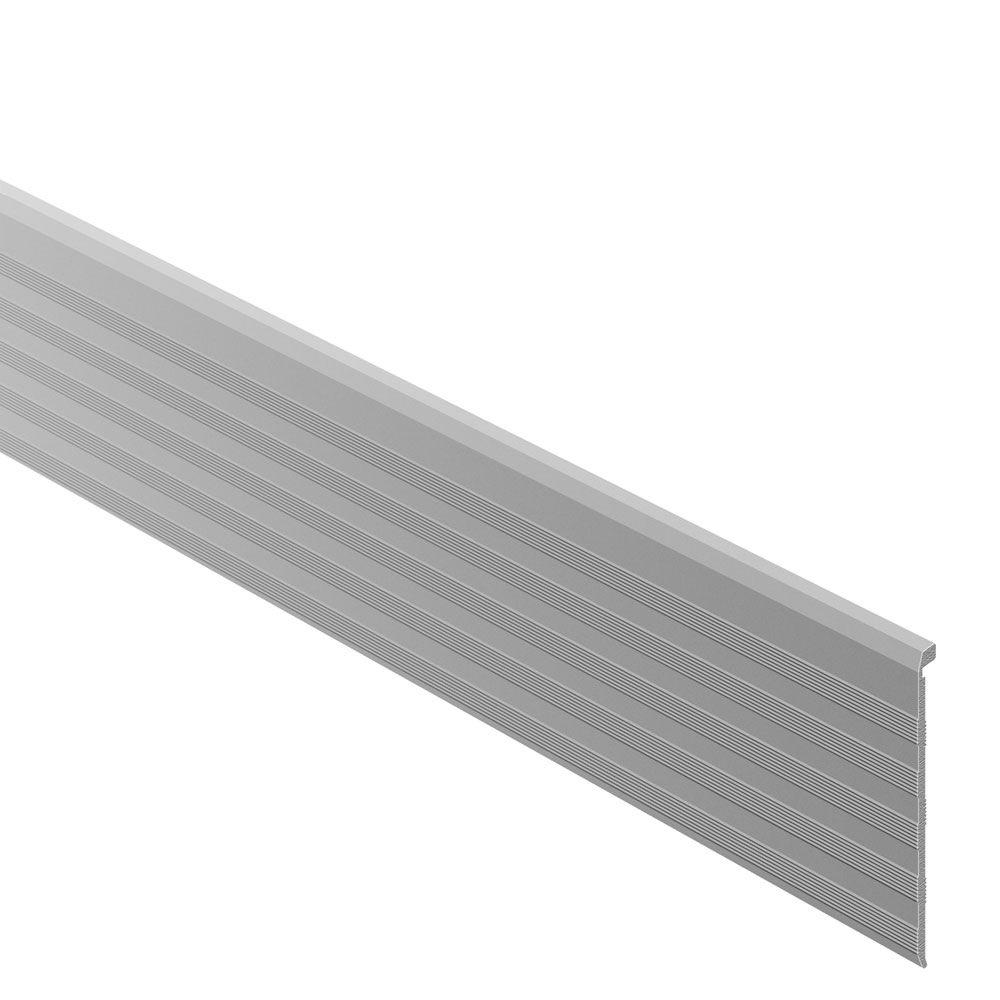 Schluter Trep Tap Satin Anodized Aluminum 2 13 32 In X 8