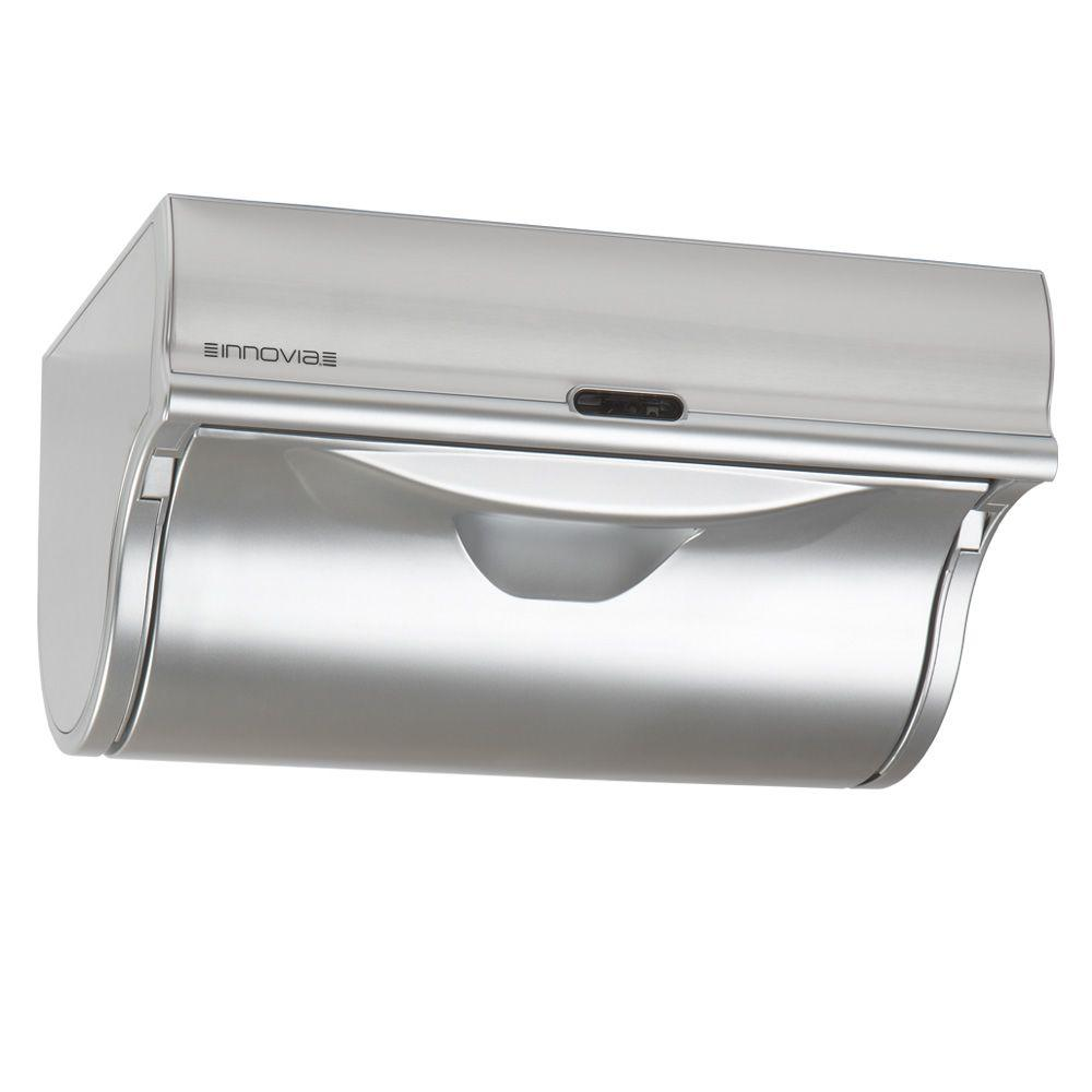 innovia automatic paper towel dispenser silver wb2 159s the home depot. Black Bedroom Furniture Sets. Home Design Ideas
