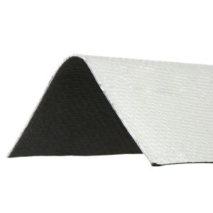 3.3 ft. x 12-1/2 in. White Ridge Cap Asphalt Roof Panel
