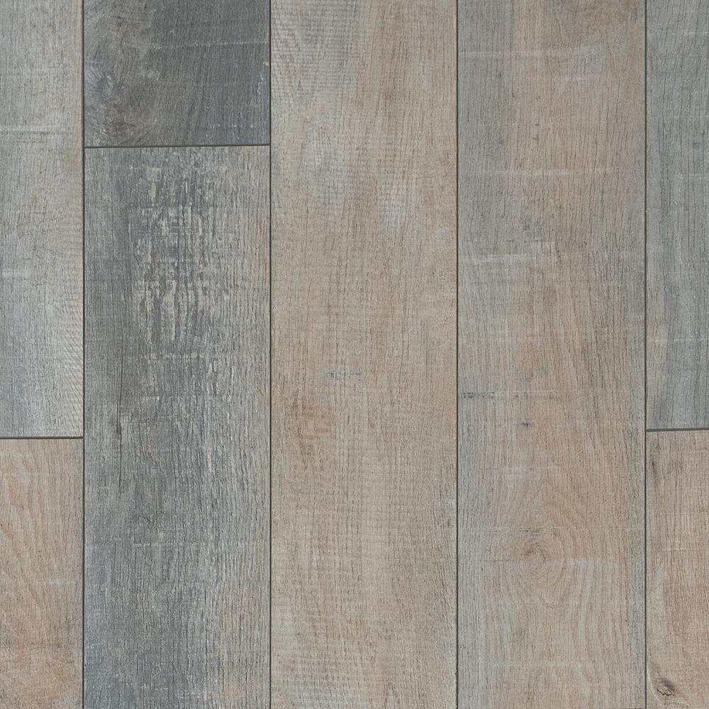 Foggy Hollow Oak Laminate Flooring - 5 in. x 7 in. Take Home Sample