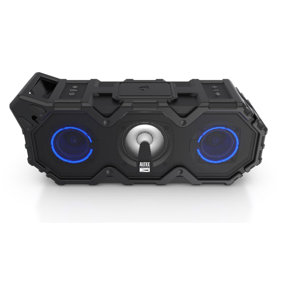 Super Lifejacket Jolt with Lights Wireless Speaker - Black
