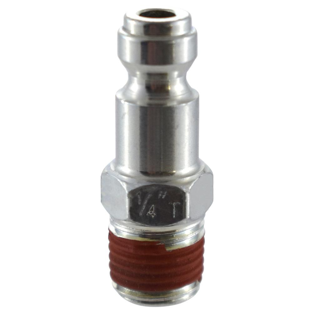 Husky 1/4 in. x 1/4 in. NPT Male Automotive Plug