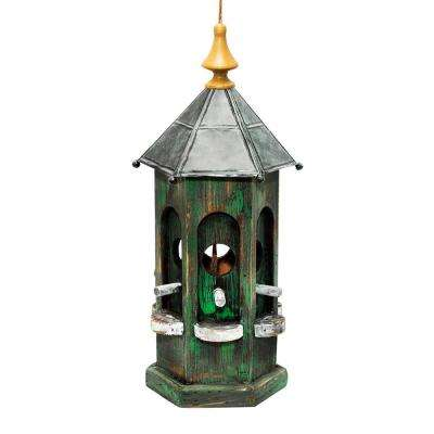 19 in. Tall Green Artful House