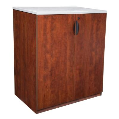 Legacy Cherry Stand Up Storage Cabinet without Top