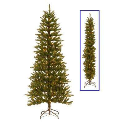 6.5 ft. Kensington 2-Dimensional Artificial Christmas Tree with Clear Lights