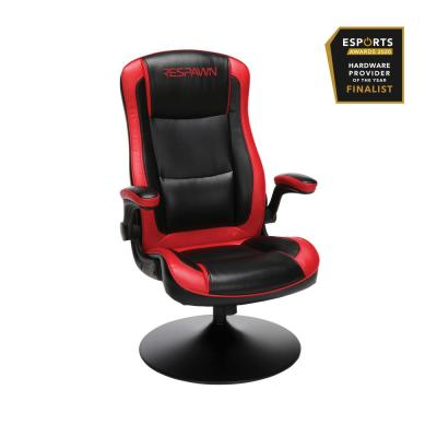 800 Racing Style Gaming Rocker Chair, Rocking Gaming Chair, in Red (RSP-800-BLK-RED)