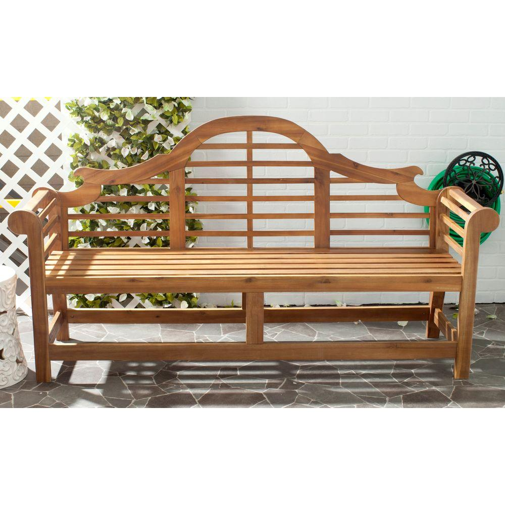 Safavieh Khara Natural Patio Bench