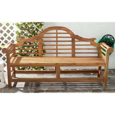 Khara Natural Patio Bench