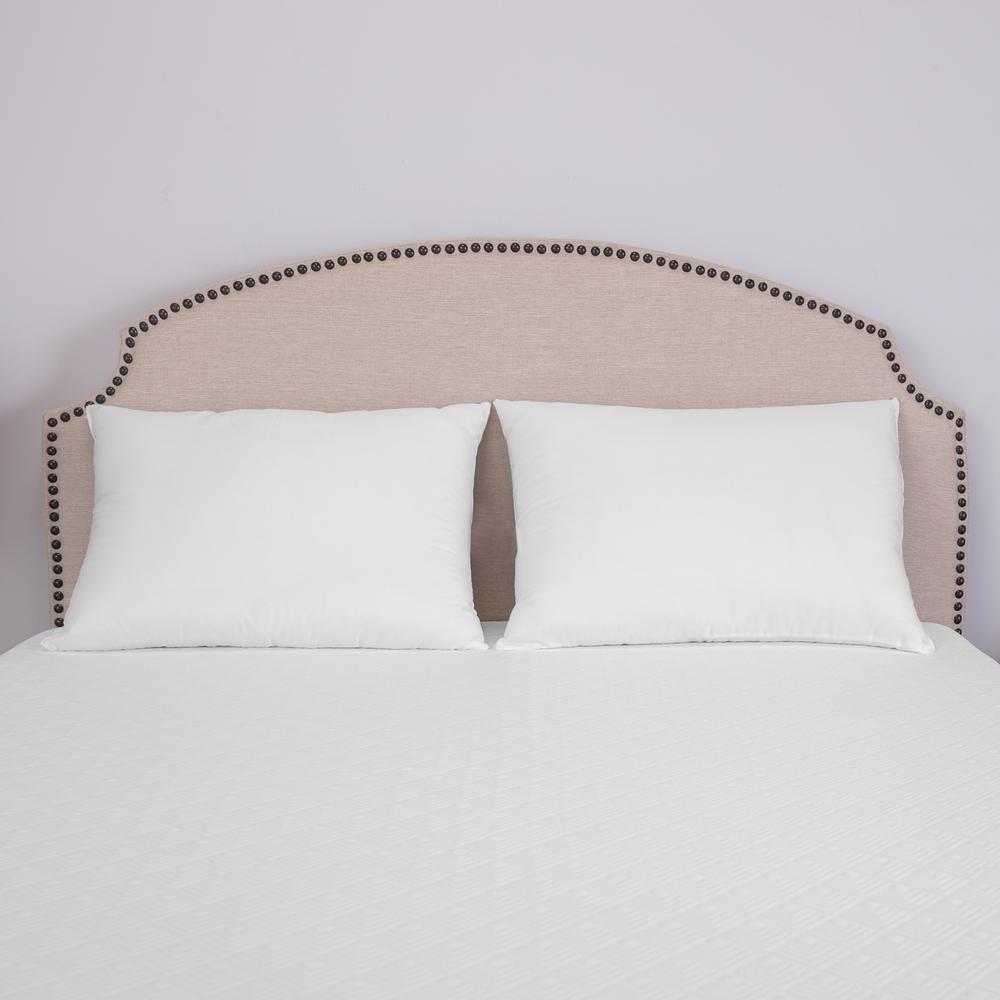 UltraFresh Cotton Jumbo Pillows (Set of 2)