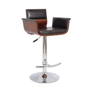 Sensational Ac Pacific Bentwood Cherry Contemporary Modern Padded Ibusinesslaw Wood Chair Design Ideas Ibusinesslaworg