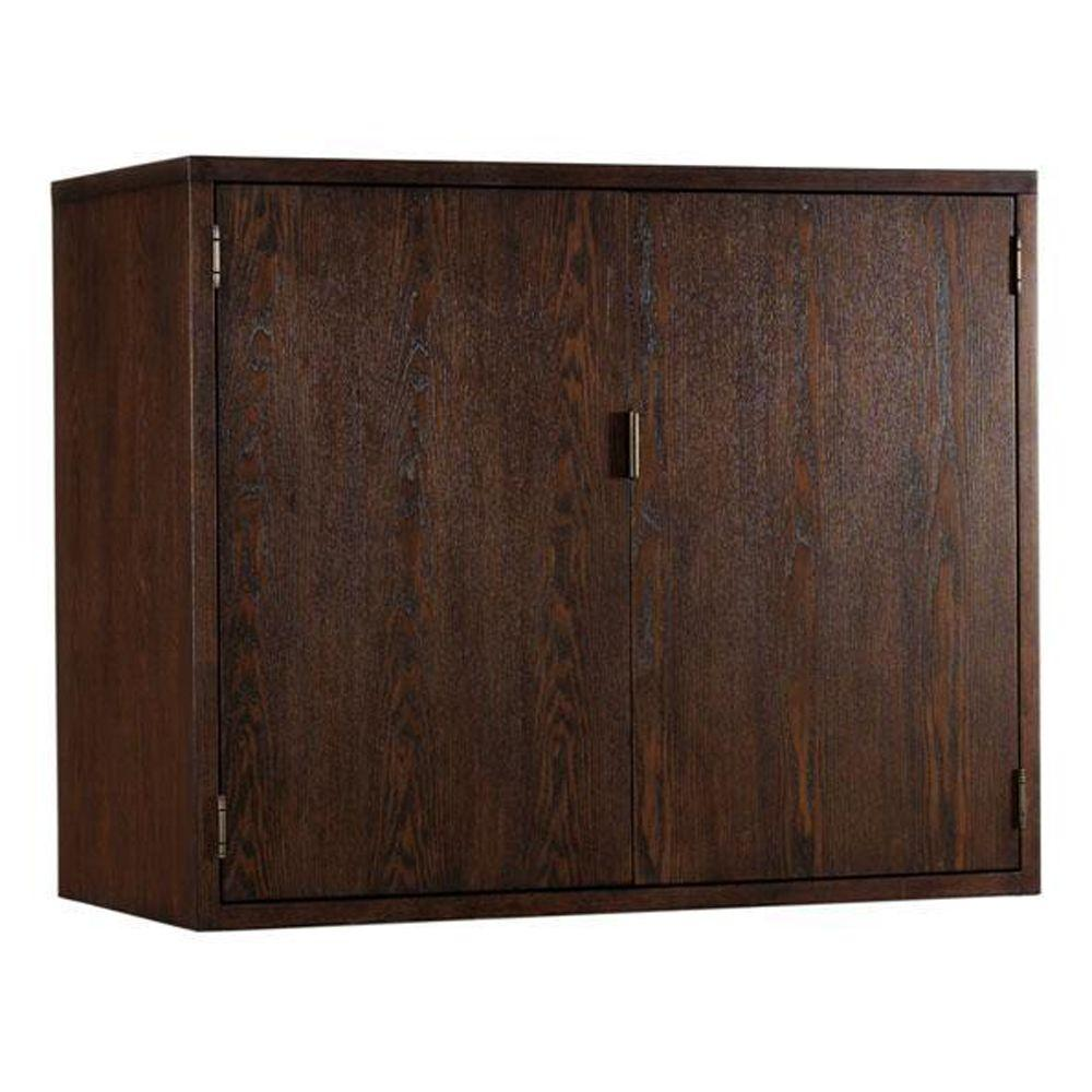 Martha Stewart Living Sable Brown Lombard Bar Cabinet