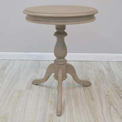 Gilda Weathered Gray Side Table
