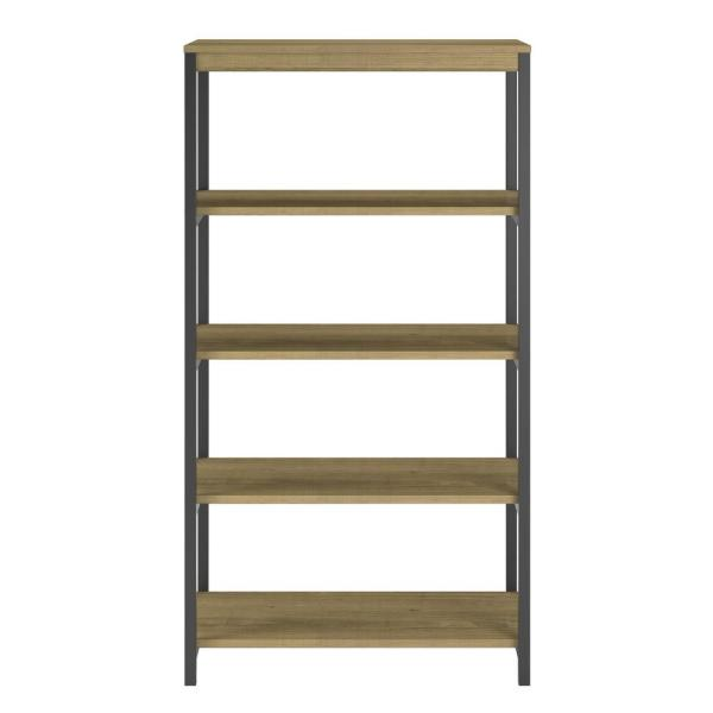 Ameriwood Cumbria Golden Oak 5-Shelf Bookcase HD09458