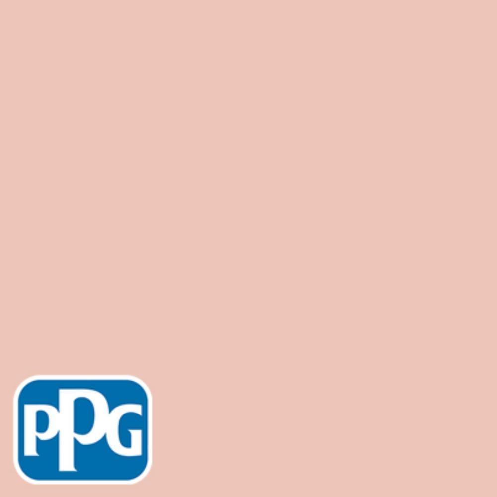 5 gal. #HDPPGO06D Desert Dawn Satin Exterior One-Coat Paint with Primer