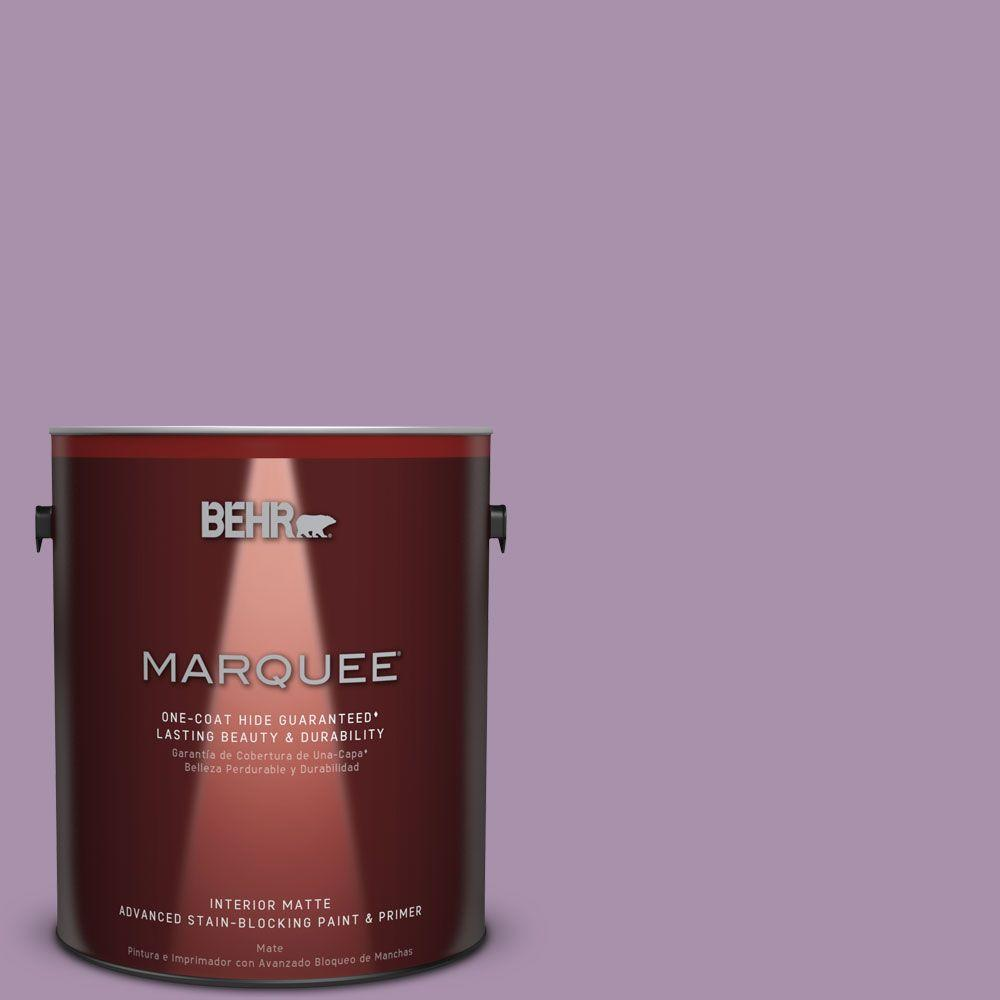BEHR MARQUEE 1 gal. #MQ5-33 Uptown Girl One-Coat Hide Matte Interior Paint