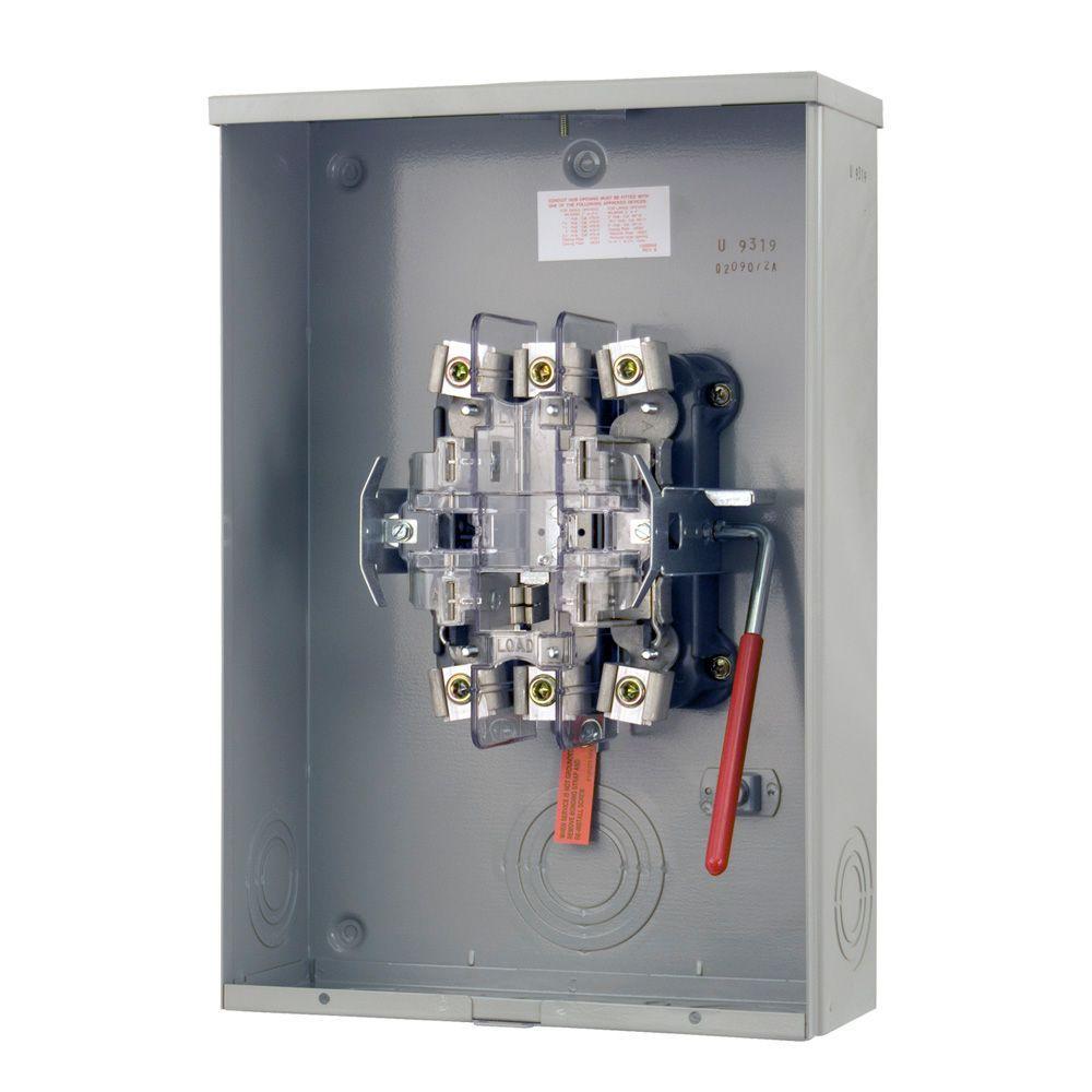200 Amp 5 Terminal Ringless Medium Duty Overhead/Underground Meter Socket