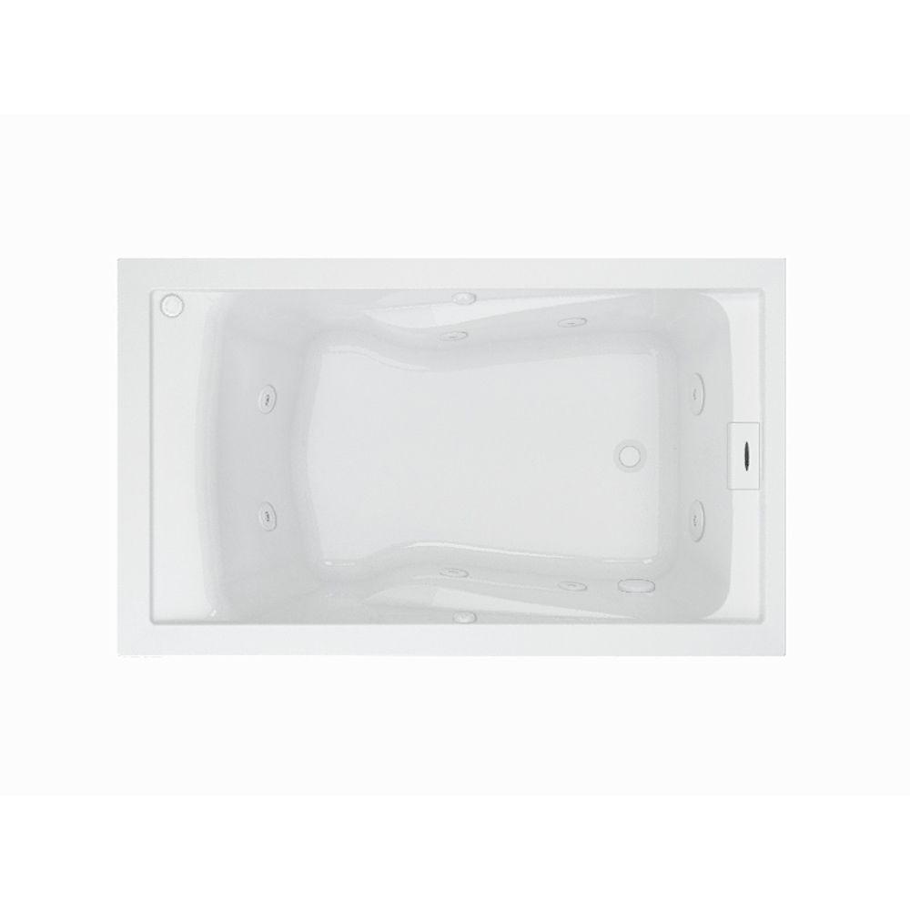 American Standard EverClean 60 in. Rectangular Drop-in Whirlpool ...