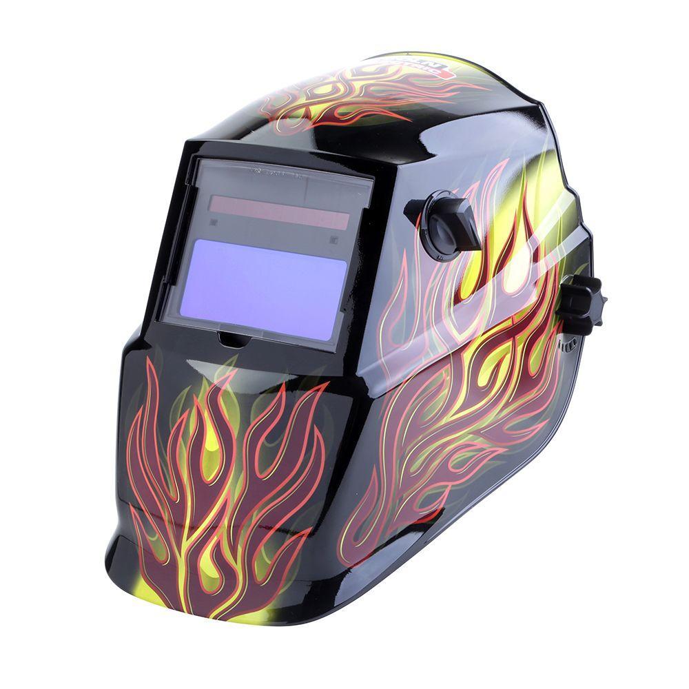 Blaze Auto Darkening Welding Helmet Variable Shade 7-13 with Grind Mode