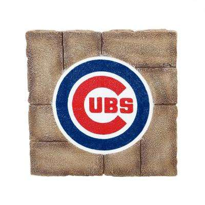 Chicago Cubs 12 in. x 12 in. Decorative Garden Stepping Stone