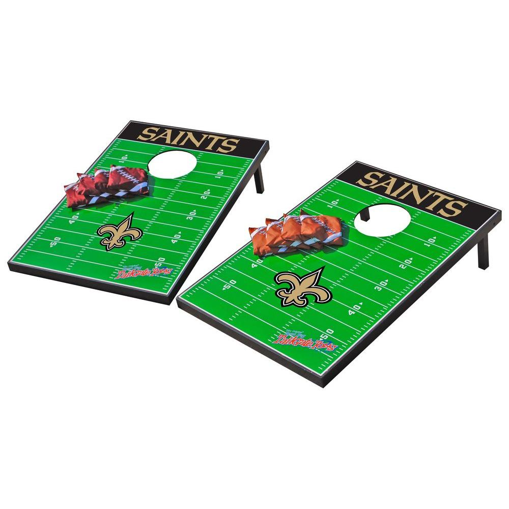 Wild Sports New Orleans Saints Tailgate Cornhole Toss