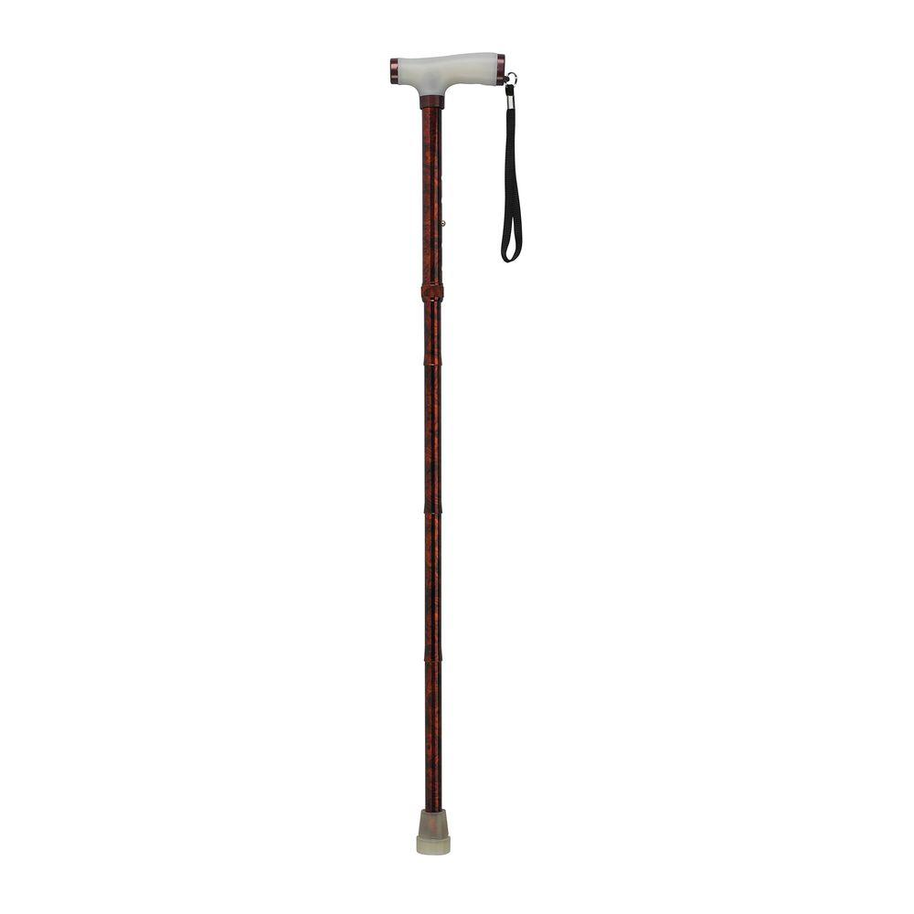 Drive Folding Canes with Glow Gel Grip Handle in Copper