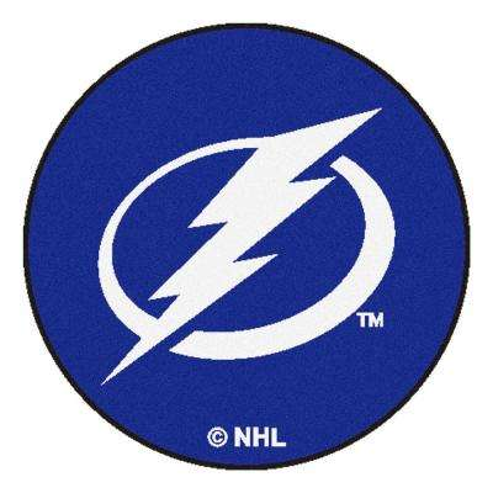 Tampa Bay Lightning Blue 2 ft. x 2 ft. Round Area Rug
