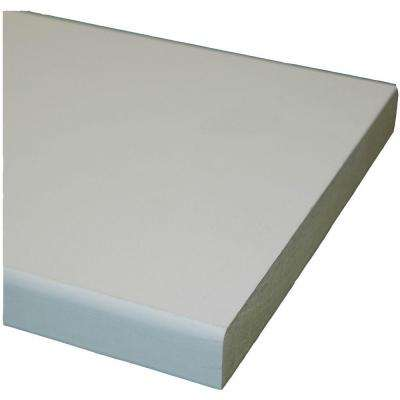 Primed MDF Board (Common: 11/16 in. x 3-1/2 in. x 8 ft.; Actual: 0.669 in. x 3.5 in. x 96 in.)