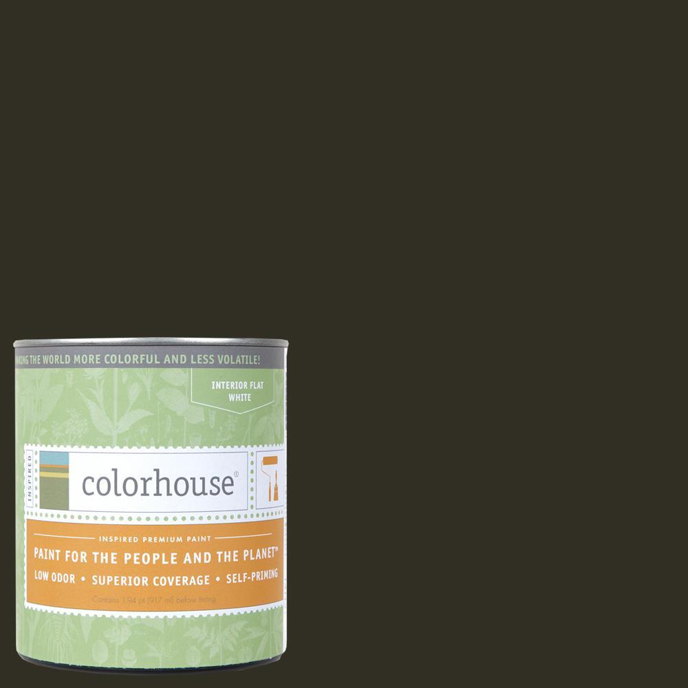 1 qt. Wood .06 Flat Interior Paint