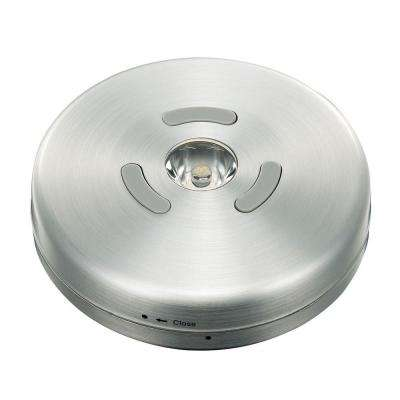 3.3 in. LED Brushed Nickel Puck Light