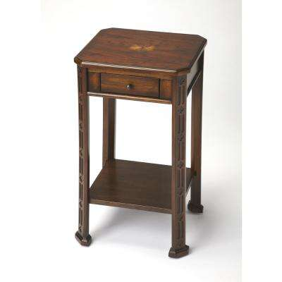 BUTLER MOYER PLANTATION CHERRY ACCENT TABLE