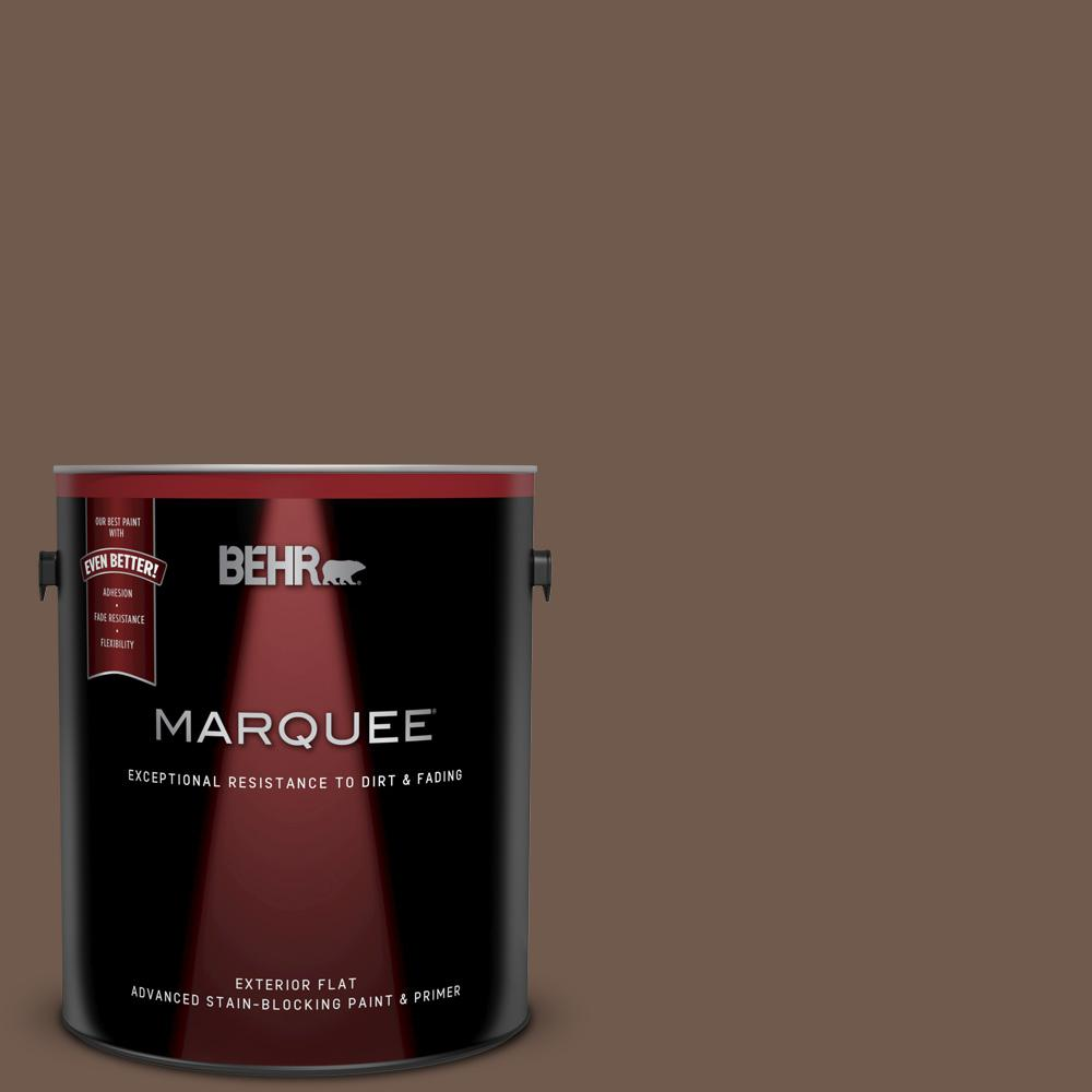 Ppf 52 Rich Brown Flat Exterior Paint And Primer