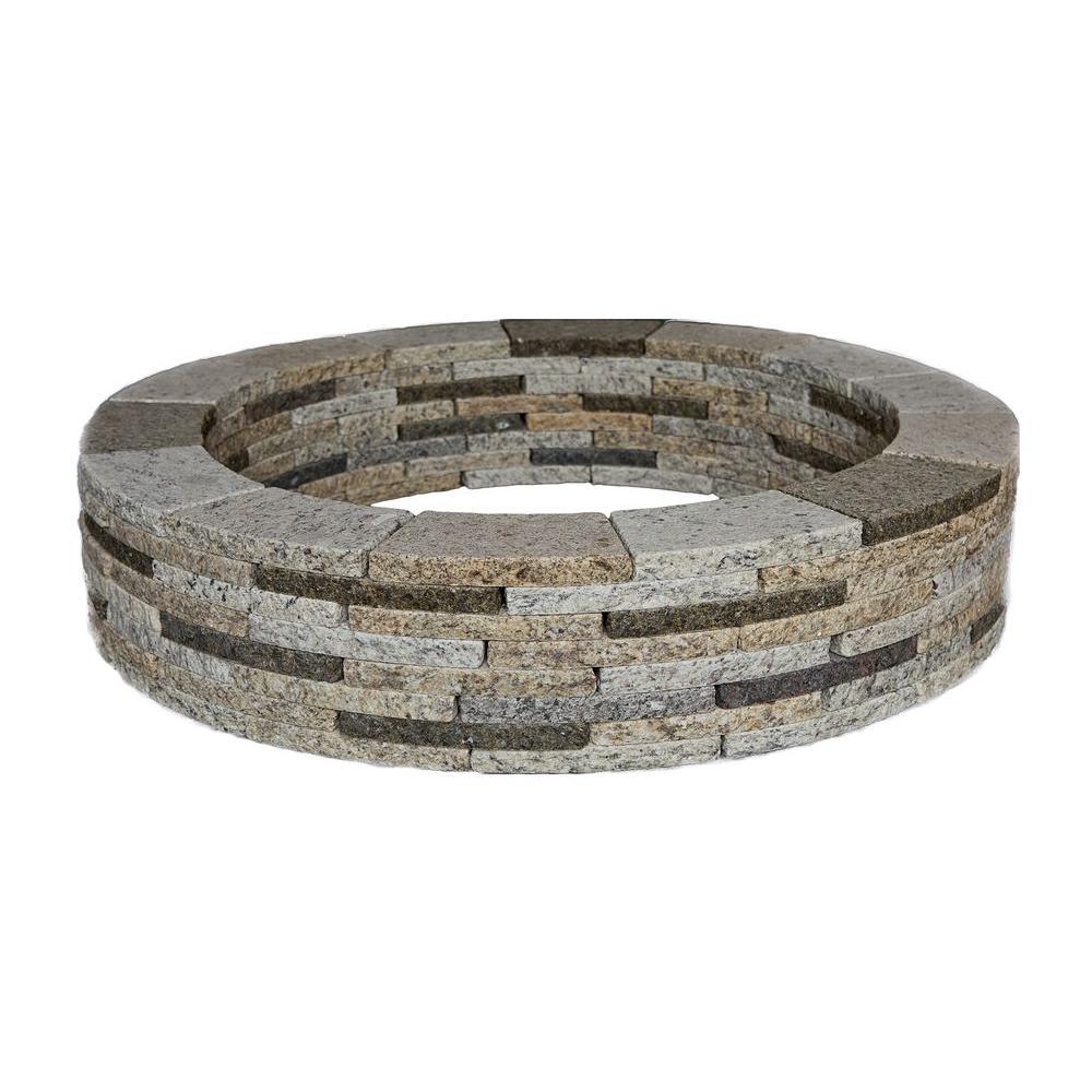 Encore Stone 48 In Round Granite Tree Ring Kit
