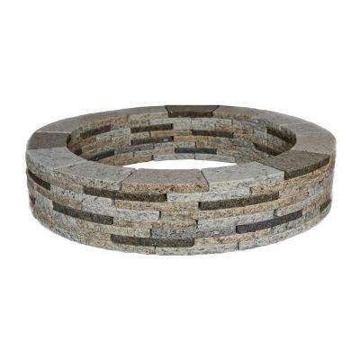 48 in. Round Granite Tree Ring Kit