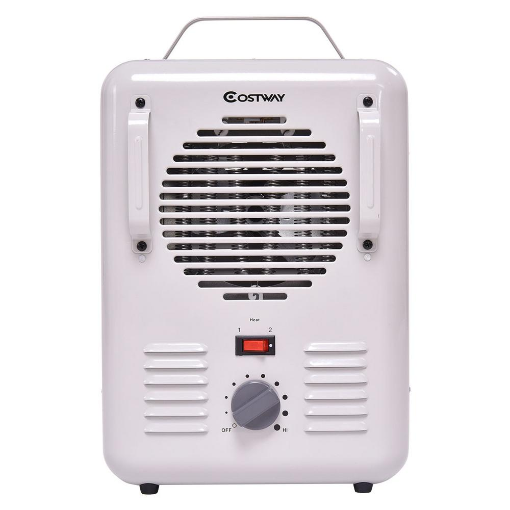 Electric Space Heater Home Room Portable Air Heating Adjustable Thermostat 1500W