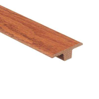 Butterscotch 3/8 in. Thick x 1-3/4 in. Wide x 94 in. Length Wood T-Molding
