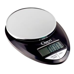 Click here to buy Ozeri Pro Digital Kitchen Food Scale, 1 g to 12 lbs. Capacity, in Stylish Black by Ozeri.