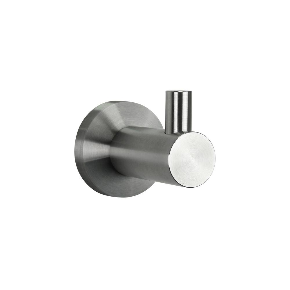Single Robe Hook in Stainless Steel