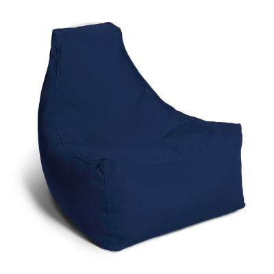 Juniper Jr Navy Outdoor Kids Bean Bag Lawn Chair