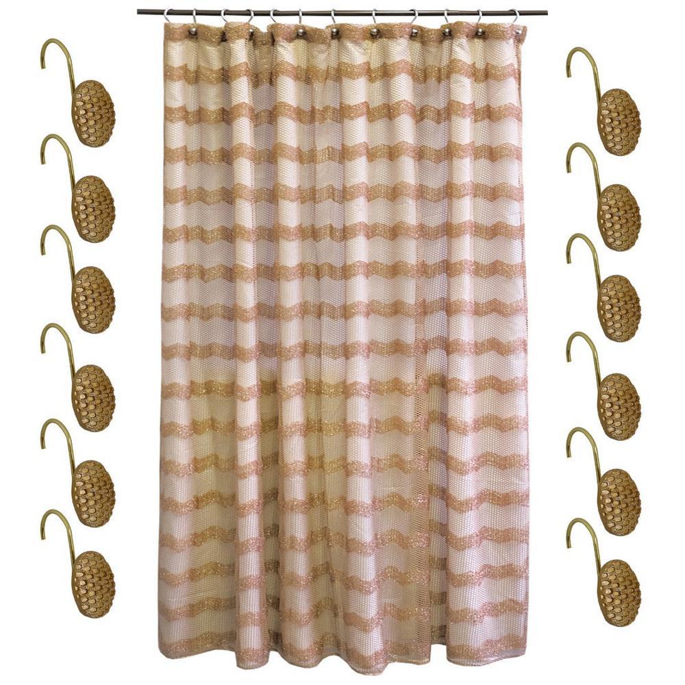 Bronze Shower Curtains