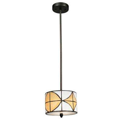 Varesa 1-Light Dark Bronze Mini Pendant