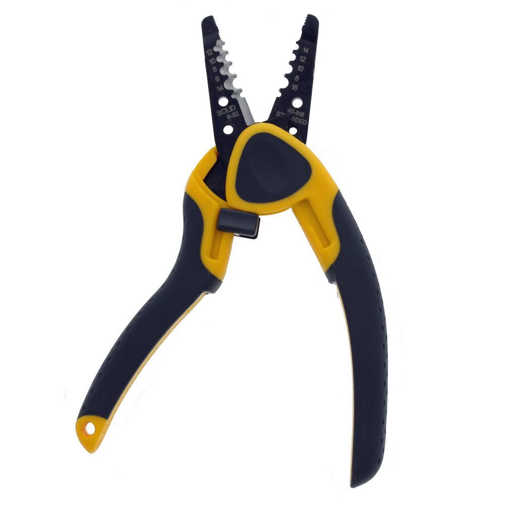 Ideal Kinetic Reflex T-Stripper Wire Stripper Pliers