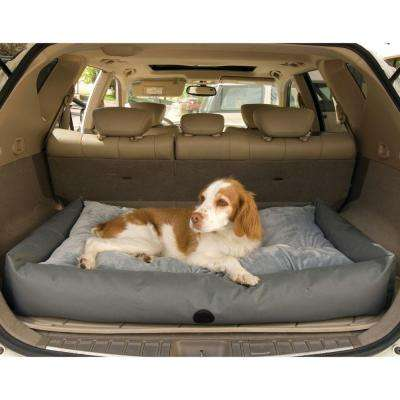 Travel/SUV Large Gray Pet Bed